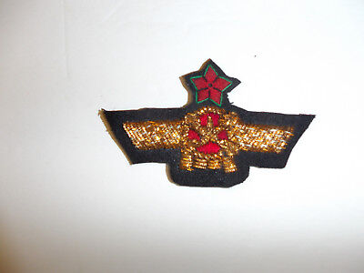 b9598 1930's Spanish Civil War Communist Republic Pilot Wings Spain C9A7