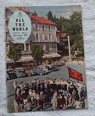 Salvation Army Quarterly Magazine ALL THE WORLD - July-Sept 1955, Vol. 11 No.7