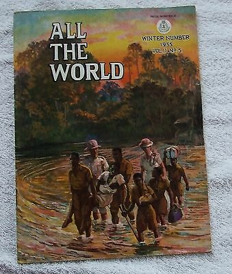 Salvation Army Quarterly Magazine ALL THE WORLD - Winter 1955, Vol. 11 No.5