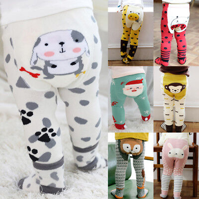 Toddler Kids Baby Girl Boy Cotton Warm Tights Stockings Pantyhose Pants + Socks