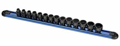 Sunex Tools 3362 3/8″ Dr. 14 Pc. Low Profile Impact Socket Set w/ Hex Shank MM
