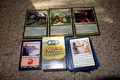 Heavenly Inferno Commander 2011 Complete Deck Magic the Gathering MTG