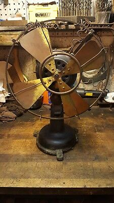 Antique Fidelity Electric Oscillating Fan Lancaster Pa. - Project