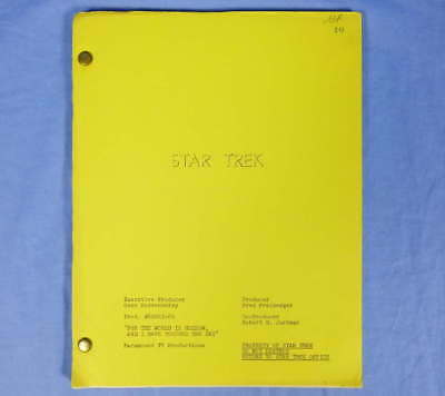 Star Trek TOS Episode Script For The World Is Hollow And I Have Touched The Sky