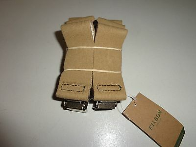Brand New With Tags Filson Made In Usa Clip Suspenders Reg