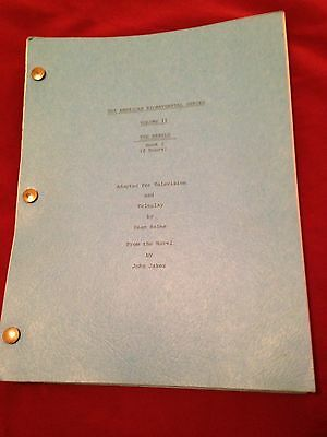 JOHN JAKES THE REBELS 1978 ORIG TV MOVIE Show Script Don Johnson Andrew Stevens