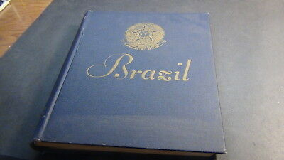 Brazil stamp collection in Minkus specialty blue album to '72 or so