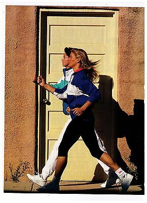 """1990's """"Stress Management From Nike"""" Women's Shoe Print Advertisement"""