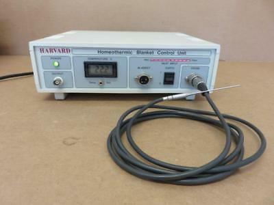 Harvard Apparatus Homeothermic Blanket Control Unit 50-7053 with Probe