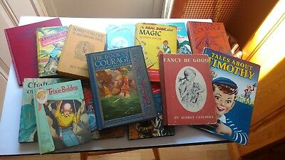 Lot of 14 vintage Children's books Look you may Like! Nice lot!