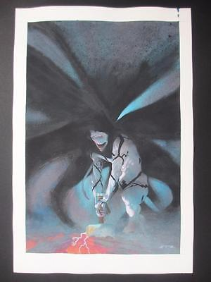 Thor: God of Thunder #6 MARVEL 2013 (Original Art) Painted Cover by Esad Ribic!