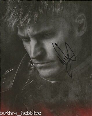 Nikolaj Coster Waldau Game of Thrones Autographed Signed 8x10 Photo COA D