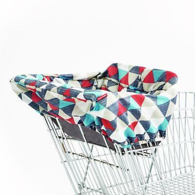 Skip Hop Take Cover Shopping Cart and High Chair Cover - Triangles