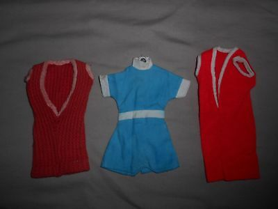 Vintage American Character Palitoy Tressy and Ideal Tammy Doll Original Outfits