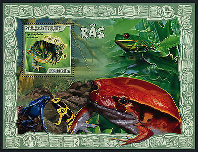 Mozambique 1801 MNH Frogs