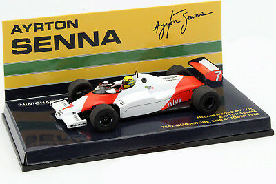 Ayrton Senna McLaren MP4/1C #7 Test Car Silverstone 1983 1:43 Minichamps