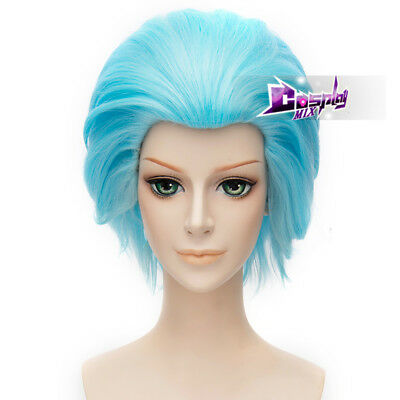 Rick And Morty Cosplay Anime Cosplay Wig Heat Resistant