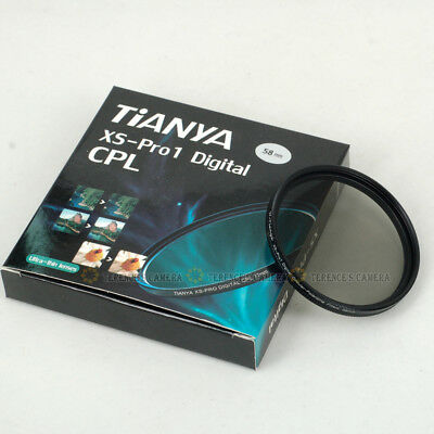 TIANYA 46mm 46 mm XS-Pro1 Glass Circular Polarizing C-PL PL-CIR Slim CPL Filter