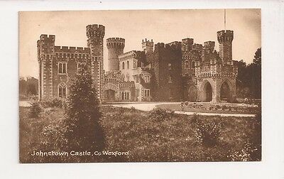 Unstamped Postcard 'Johnstown Castle, Co. Wexford' Publisher Lawrence Dublin