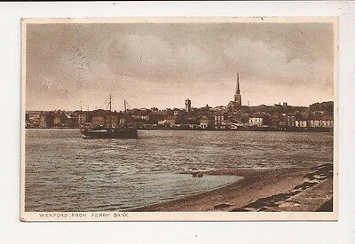 1934  Postcard 'Wexford from Ferry Bank'