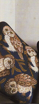 Owls Cushion Beth Russell William Morris Tapestry Needlepoint Chart