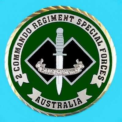 AUSTRALIAN 2nd COMMANDO REGIMENT SPECIAL FORCES COUNTER TERRORISM COIN