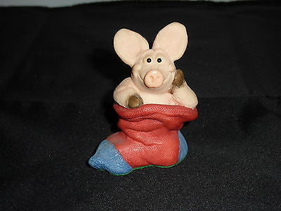 Piggin Christmas Stocking Filler 1997 Collectable World Studio Figure