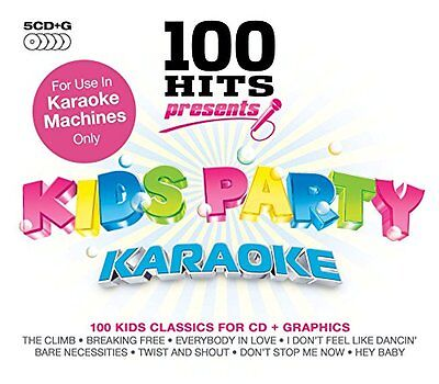 Various Artists - 100 Hits Presents - Kids Party Ka... - Various Artists CD 2QVG