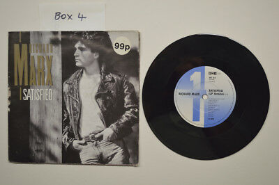 "RICHARD MARX - SATISFIED 7"" VINYL SINGLE in POSTER SLEEVE"