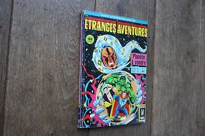 Etranges Aventures N°51/planete A Vendre/tbe/comics Pocket/1976