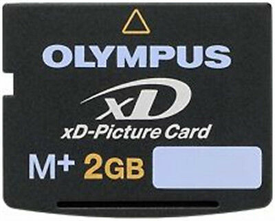 2GB XD M+ MEMORY CARD (new) for OLYMPUS  &   FINEPIX CAMERA'S