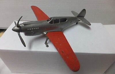 Hubley Flying Circus Metal Airplane Made in USA