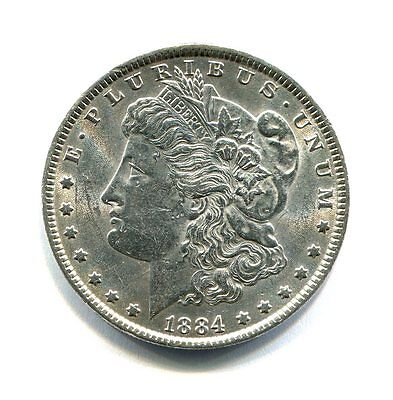 Usa 1  Dollar Morgan  Plata 1884  Ebc