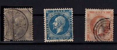 P44025 / Norvege / Norway / Sg # 6 / 7 - 11 Obl / Used 180 €
