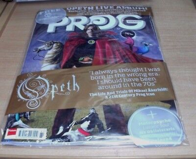 Prog magazine #81 OCT 2017 Opeth Motorpsycho Lunatic Soul The Contortionist+ CD