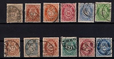 P44039 / Norvege / Norway / Lot 1872 Obl / Used 210 €