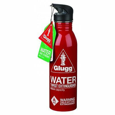Red GLUGG Waterbottle Thirst Extinguisher