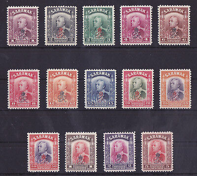 SARAWAK 1947 Mint NH Crown Colony Set of 14 Stamps SG #150-164 VF