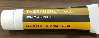 Medline TheraHoney Gel Dressing .5oz Dressing Wounds Ulcers Burns Minor Cuts