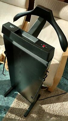 The Corby 3300 Trouser Press in Black Ash