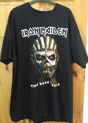 IRON MAIDEN The Book Of Souls T-SHIRT 2017 WORLD TOUR / NEW / SIZE XXL / Eddie