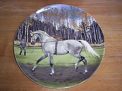 Retired Spode Limited Edition Hanoverian Horse Plate by Susie Whitcombe