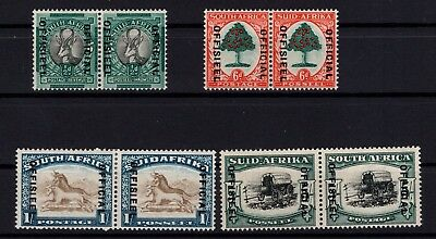 P38672/ South Africa / Official / Y&t # 40 / 43 – 42 / 45B Neufs * / Mh 155 €