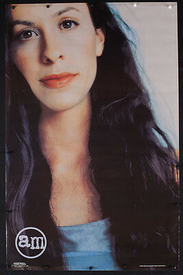 Rare Vintage Alanis Morissette Poster Rock Music Dorm Room Decor - T49