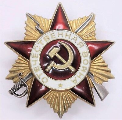 Soviet Russian USSR order of the Patriotic War 1st Class #822,040