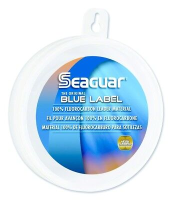 Seaguar 60FC25 Blue Label Flourocarbon Leader 60Lb 25Yds Fishing Line