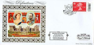BENHAM D594 GEORGE V ACCESSION 1st CLASS FDC 6-5-10 WINDSOR SHS F9
