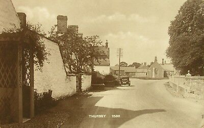 Vintage Car (Reg Hh323) In Thursby Cumbria Early Rp Pc