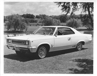 1967 Rambler Rebel SST ORIGINAL Factory Photo oub8681