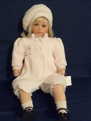 "Beautiful 24"" Lloyd Middleton Royal Vienna Doll Collection ""Heather"" Doll in Box"